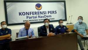 Dalam Putuskan Sengketa Pilkada, DPW Nasdem Sumut Sebut MK Terapkan Standar Ganda