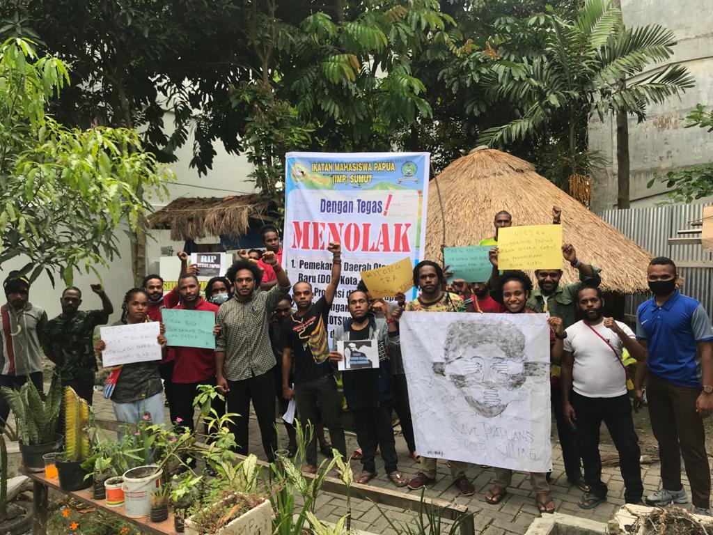 Tolak Otsus Jilid II, Mahasiswa Papua Sumut: Itu Hanya Kepentingan Elite Daerah
