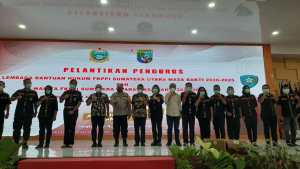 Pengurus LBH dan Wanita FKPPI Dilantik, Gubsu : Organisasi ini Komponen Cadangan TNI Polri