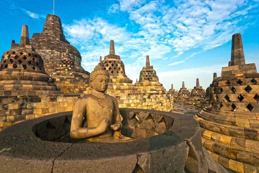 Bosen Gowes di Perkotaan, tiket.com Ajak Gowes di Borobudur