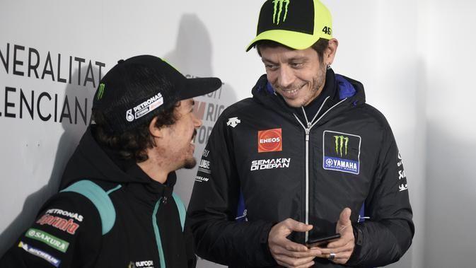 Valentino Rossi Dibujuk Kembali Kompetitif di MotoGP 2021