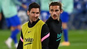 Messi dan Griezmann, Duet Mematikan Barcelona di Kancah LaLiga