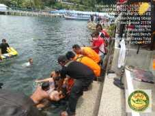 Anak Semata Wayang Tewas Tenggelam di Danau Toba