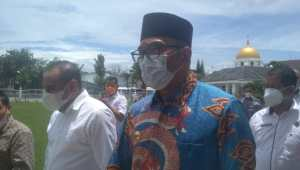 Temui Gubernur Edy, Gubernur Ridwan Kamil Bahas Potensi Migas di Daerah
