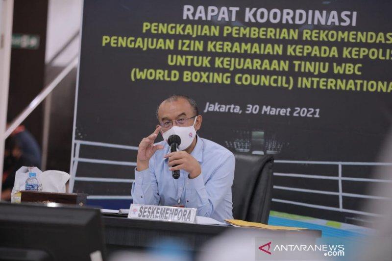 Atlet PON Papua Ditargetkan Juli Selesai Divaksinasi