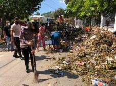 Pascabadai Seroja di Kupang, Polantas Angkut 50 Truk Sampah Selama Sepekan