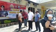 Laporkan Dugaan Suap, Tiga Anggota DPRD Datangi Polres Padangsidimpuan