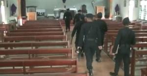 Antisipasi Teror Bom, Tim Gegana Poldasu Sterilisasi Sejumlah Gereja di Langkat
