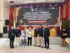 KPU Tetapkan Erik Atrada Ritonga-Ellya Rosa Siregar sebagai Kepala Daerah Labuhanbatu Terpilih
