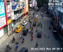H-3 Hari Raya Idul Fitri, Arus Lalu Lintas Kota Medan Ramai