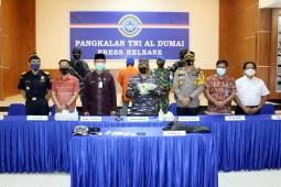 Lagi, TNI AL Gagalkan Penyelundupan 1 Kg Sabu dari Malaysia