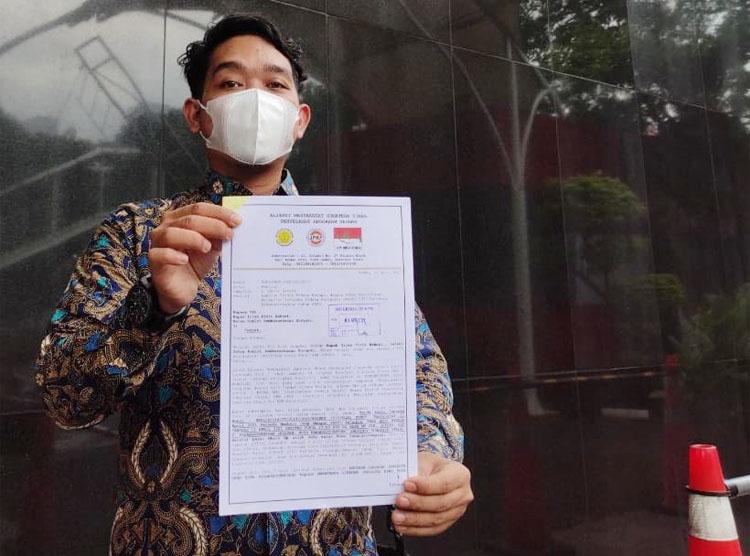 Dugaan Suap Ketok Palu LKPJ Wali Kota Padangsidimpuan Resmi Dilapor ke KPK