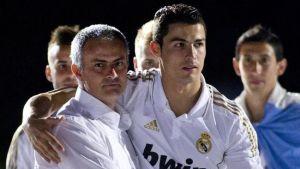 mourinhp dan ronaldo as roma