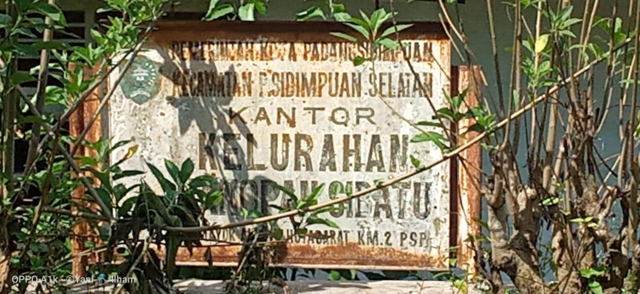 Warga Hanopan Padangsidimpuan Pertanyakan Sanitasi Desa Senilai Rp 500 Juta