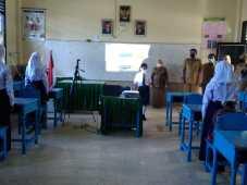 Tinjau Simulasi PTM di SMP Negeri 1 Medan, Penerapan Prokes Jadi Perhatian Bobby