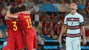 Langkah Portugal dihentikan Belgia di 16 besar Euro 2020. Rasanya, hasil itu tak pantas didapatkan sang juara bertahan.