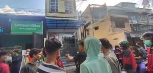 Diduga Dijadikan Tempat Prostitusi, Warga Serbu Penginapan di Medan