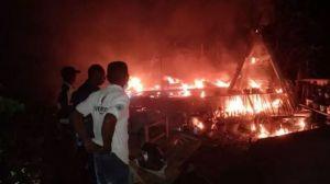 Rumah Perangkat Desa Terbakar, Dama Desa Rp 80 Juta Hangus
