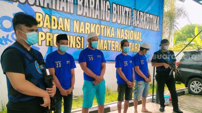 Barang Tak Paten Dikembalikan dari Makassar, Pengedar Narkoba di Medan Ditangkap