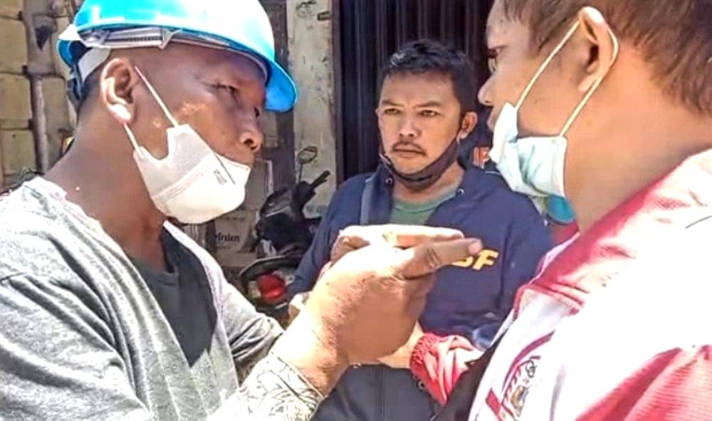 Viral! Humas Proyek Pembangunan Pasar Sibolga Sebut Wartawan 'Taik'