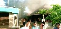 6 Rumah Terbakar di Panyabungan Madina