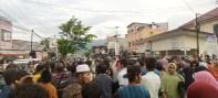 Demo Warga Batang Onang Paluta, 5 Jam Jalan Nasional di Padangsidimpuan Lumpuh