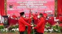 Djarot Ditarik, Rapidin Ditunjuk Jadi Ketua DPD PDI Perjuangan Sumut
