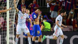 Bayern Munich Lumat Barcelona 3-0, Lewandowski Dua Gol