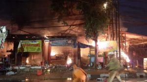 Warga Dengar Suara Ledakan, Swalayan di Cilandak KKO Jaksel Terbakar