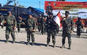31 Anggota Brimob Kawal Kontingen NTT di PON Papua