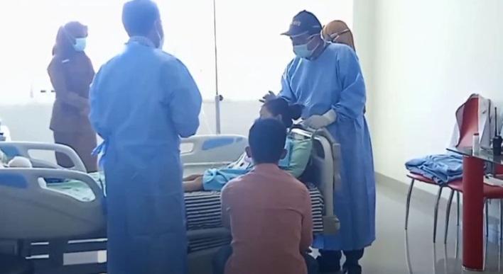 Mata Bocah Korban Pesugihan Orangtua Mulai Membaik Pasca-Operasi
