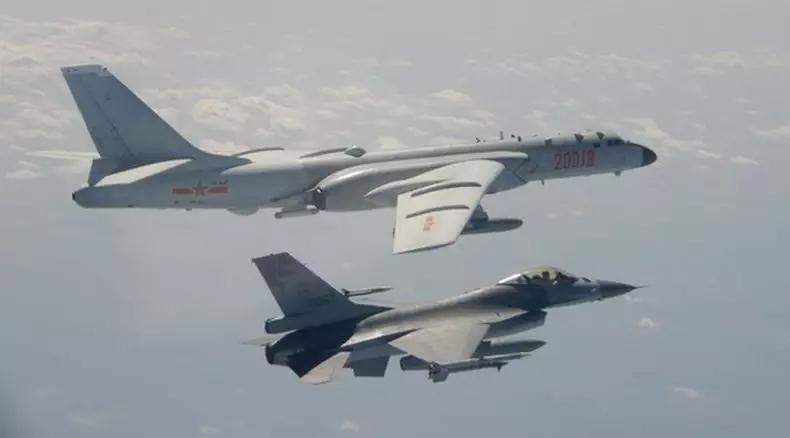 Panas Lagi, Pesawat Tempur dan Pengebom China Masuki Zona Pertahanan Taiwan