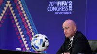 Presiden FIFA Ingin Piala Dunia Digelar di Israel-Palestina