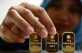 digtara.com - Harga emas Antam dan UBS di gerai penjualan emas Pegadaian hari ini Rabu 13 Oktober 2021 terus beranjak turun