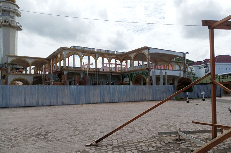 Masjid Raya Padangsidimpuan Direnovasi Total, Sumber Dana dari APBD 'Hanya' Rp 4,9 M