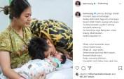 Suami Paula Verhoeven itupun akhirnya meminta maaf setelah membuat kehebohan di media sosial tersebut. Ia mempostingnya sambil mencium anak keduanya Kenzo Eldragon Wong.