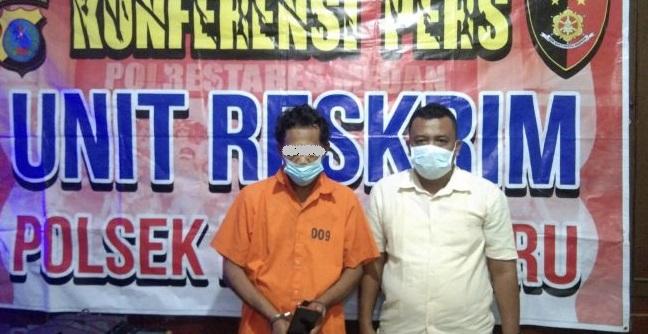 Pencuri Ponsel Pedagang Boba di Medan Diamankan Warga