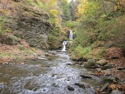Deckertown Glen, Schuyler County, New York 10-19-2010