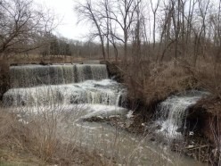 Mill Pond Falls, Otto Mills, Niagara County, New York 4-12-2014