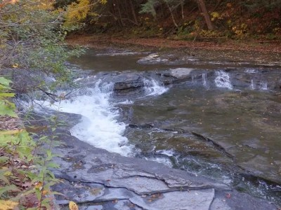 Wells Creek Falls on, Oneida County, New York