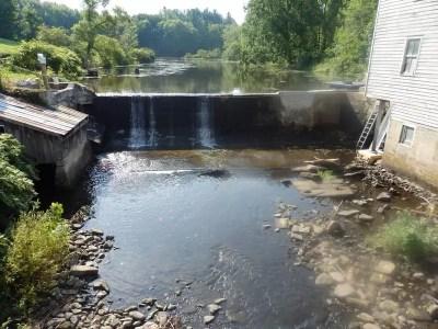Grindstone Creek Dam falls, Oswego County, New York
