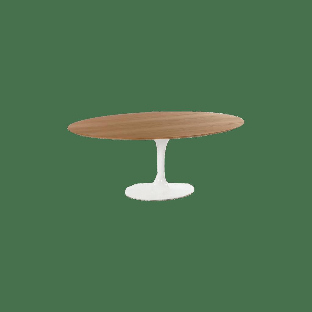 table basse ovale tulipe diiiz