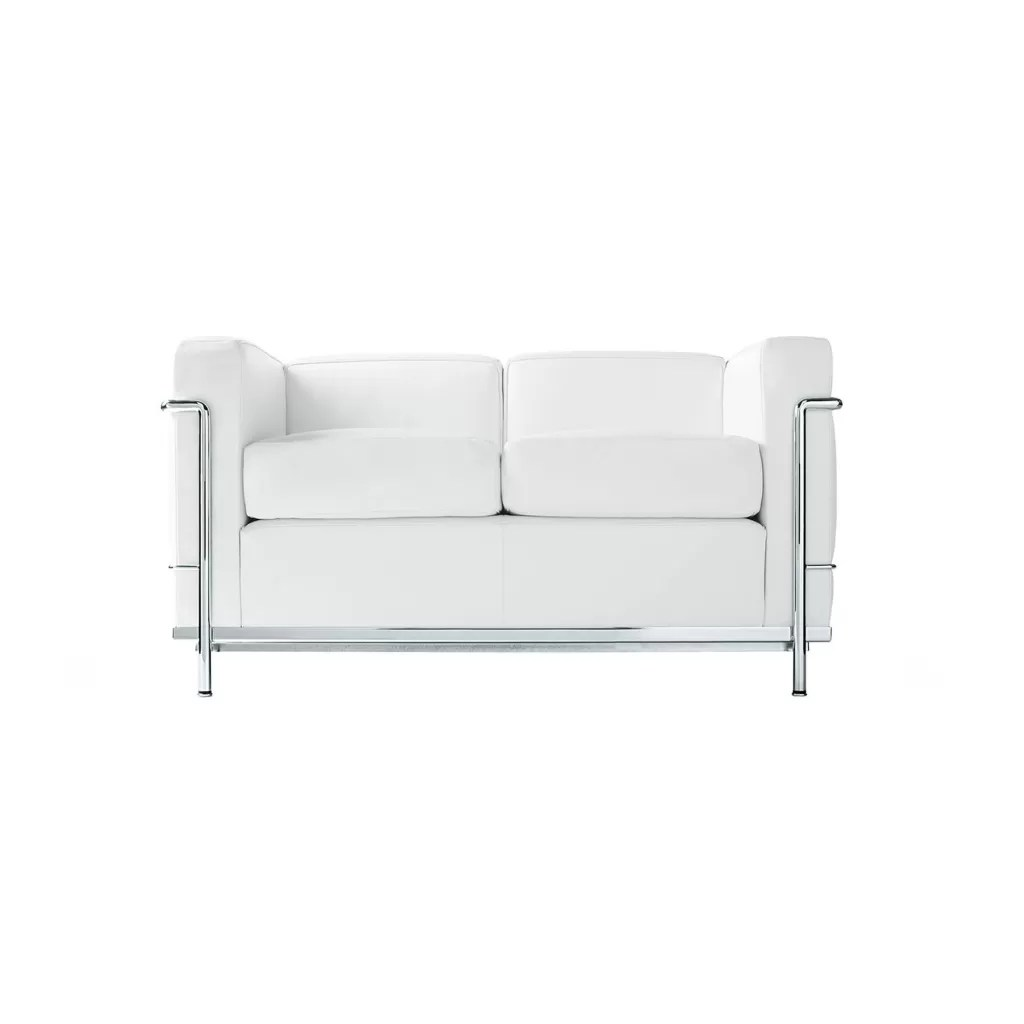 Sofa 2 Seater Quality Reproduction Lc2 Le Corbusier