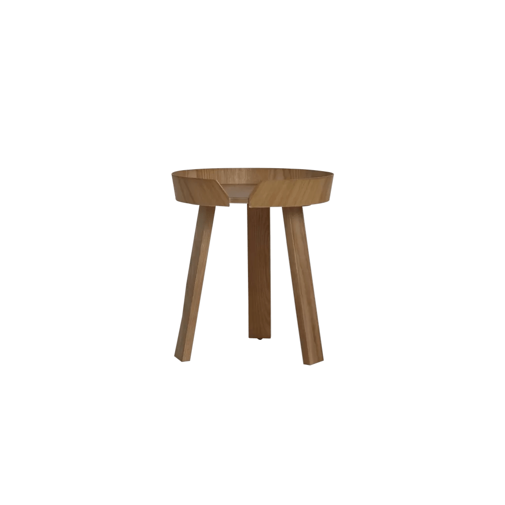 wooden round coffee table zowa modern design side table diiiz