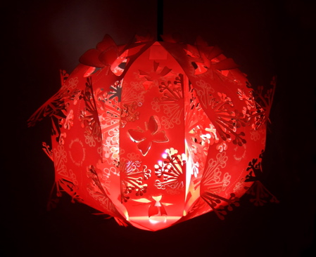 Lampe écoconception Olivia Cheung