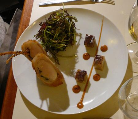 Monjul restaurant Paris nem lapin moutarde