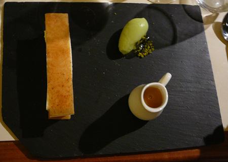 Monjul restaurant Paris guimauve pomme de terre