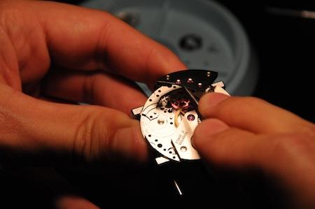 Atelier d'horlogerie salon Belles Montres