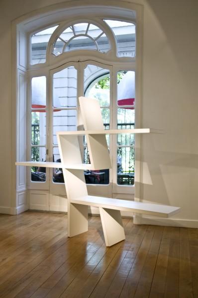 etagere Vincent Poujardieu designer's days 2009 Artcurial