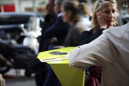 Urban Seat table par le Plan B